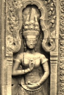 Temple at Angkor Wat - Cambodia