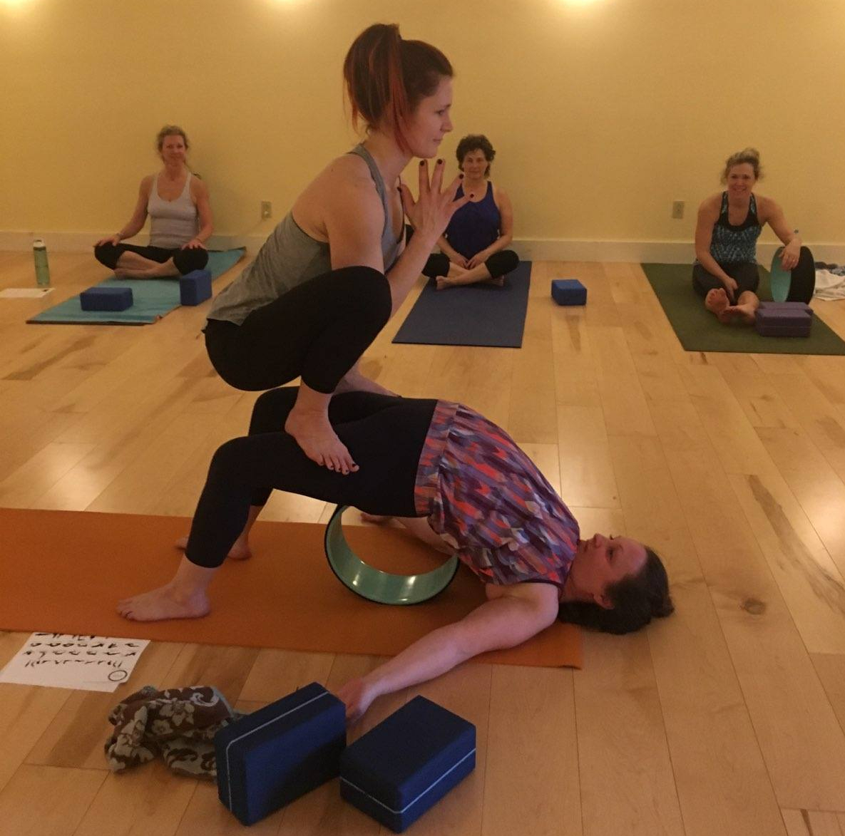 Dharma Yoga Wheel Class at SoulShine Power Yoga